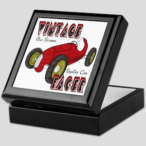 Vintage Sprint Car Racer Keepsake Box