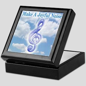 Make a Joyful Noise Keepsake Box