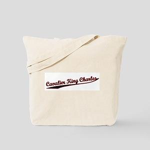 Cavalier King Charles Varsity Tote Bag