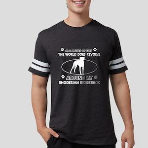 Rhodesian Ridgeback dog funny designs Women's Dark