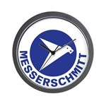 Messerschmitt Wall Clock
