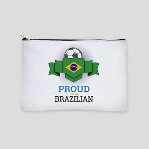 Football Brazilian Brazil Soccer Team S Makeup Bag