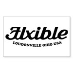 Flxible Rectangle Sticker