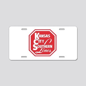 KC Lines Aluminum License Plate