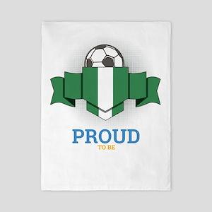Football Nigerians Nigeria Soccer Twin Duvet Cover