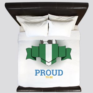 Football Nigerians Nigeria Soccer Team King Duvet