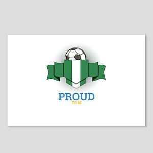 Football Nigerians Nigeri Postcards (Package of 8)