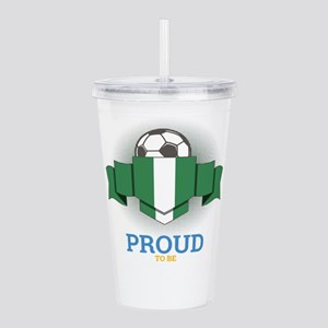 Football Nigerians Nig Acrylic Double-wall Tumbler