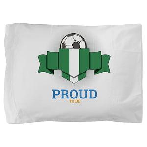 Football Nigerians Nigeria Soccer Team Pillow Sham