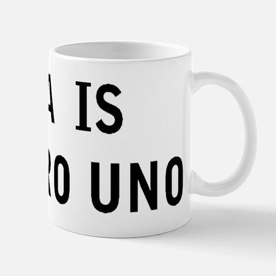 GINA IS NUMERO UNO Mug