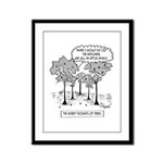 Tree Cartoon 1666 Framed Panel Print