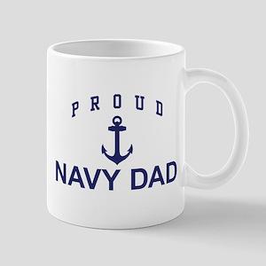 Proud Navy Dad Mug