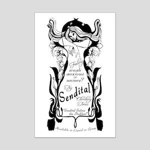 Sendital Climbing Tonic Mini Poster Print