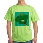 Kauai Weather Forecast Green T-Shirt