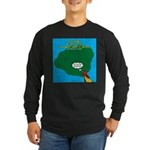 Kauai Weather Forecast Long Sleeve Dark T-Shirt
