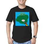 Kauai Weather Forecast Men's Fitted T-Shirt (dark)