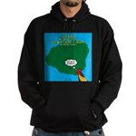Kauai Weather Forecast Hoodie (dark)