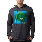 Kauai Weather Forecast Mens Hooded Shirt