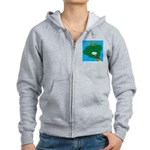 Kauai Weather Forecast Women's Zip Hoodie