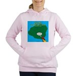 Kauai Weather Forecast Women's Hooded Sweatshirt