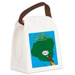 Kauai Weather Forecast Canvas Lunch Bag