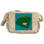 Kauai Weather Forecast Messenger Bag