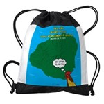 Kauai Weather Forecast Drawstring Bag
