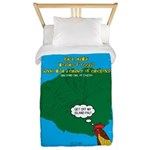 Kauai Weather Forecast Twin Duvet Cover