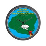 Kauai Weather Forecast Wall Clock