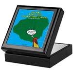 Kauai Weather Forecast Keepsake Box
