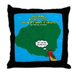 Kauai Weather Forecast Throw Pillow