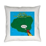 Kauai Weather Forecast Everyday Pillow