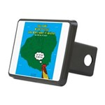 Kauai Weather Forecast Rectangular Hitch Cover