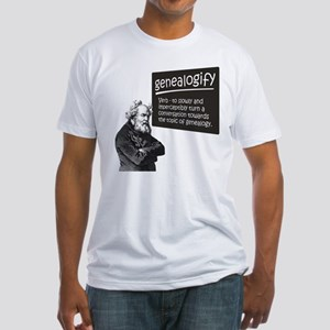 Genealogify Fitted T-Shirt