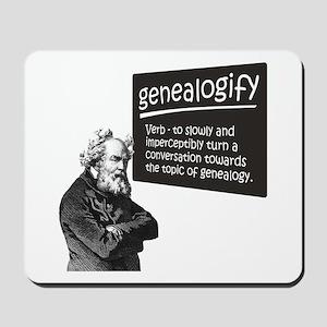 Genealogify Mousepad