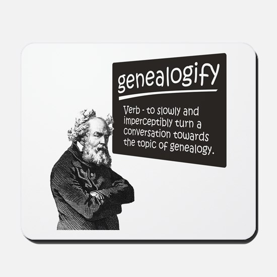 Genealogify Mousepad