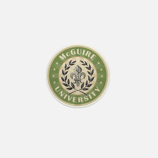 McGuire Last Name University Mini Button