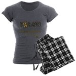 IE Radio Women's Charcoal Pajamas