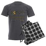 IE Radio Men's Charcoal Pajamas