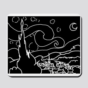 The Starry Night - Mousepad