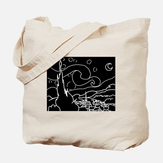 The Starry Night - Tote Bag