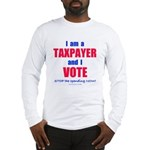 I VOTE! Long Sleeve T-Shirt