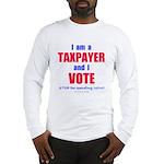 I VOTE! Long Sleeve T-Shirt