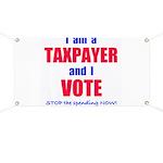 I VOTE! Banner