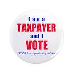 "I VOTE! 3.5"" Button (100 pack)"
