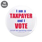 "I VOTE! 3.5"" Button (10 pack)"