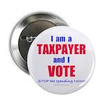 "I VOTE! 2.25"" Button (100 pack)"