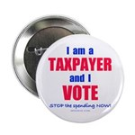 "I VOTE! 2.25"" Button (10 pack)"