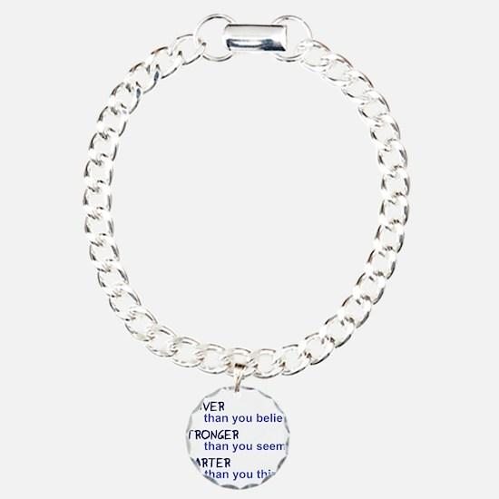 inspire quote - braver s Bracelet
