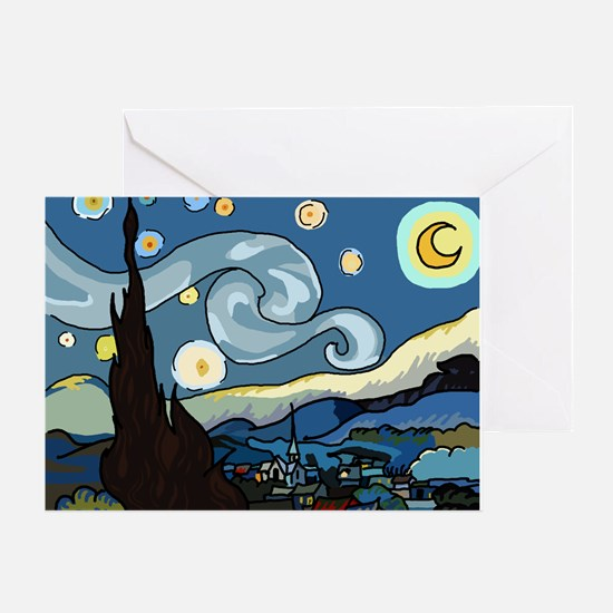 The Starry Night SFM - Greeting Card